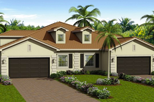 Valencia bonita is getting ready to unveil its new model homes in Bonita Springs, Florida.