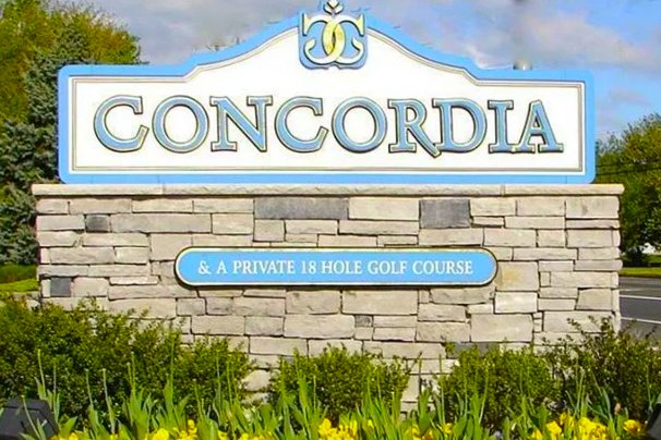 Concordia is a beautiful resale community in Central New Jersey that is 55+.