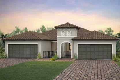 One of Del Webb's new models in Del Webb at Lakewood Ranch.
