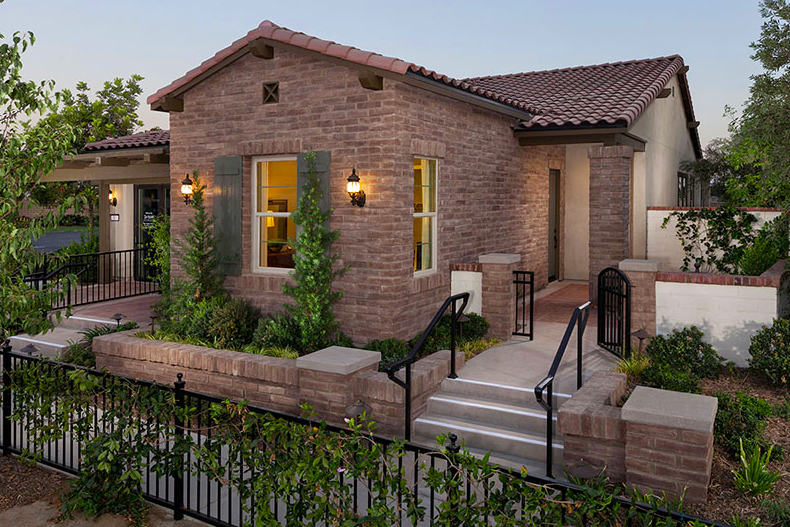 Rendering of a model home at Buena Vida at La Floresta.