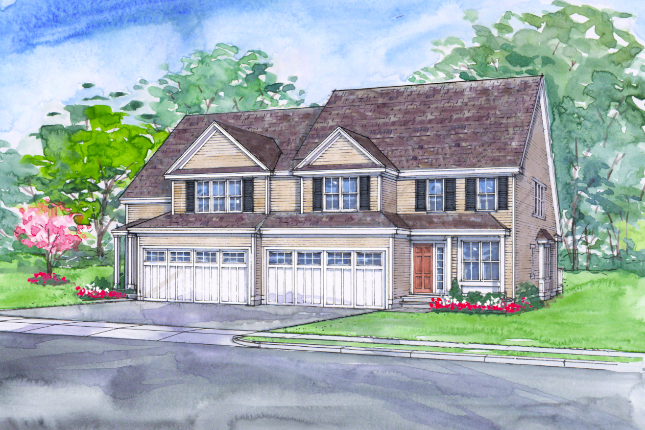 Rolling GReen at Topsfield, MA is a new 55+ community being built by C.P. Berry Homes.