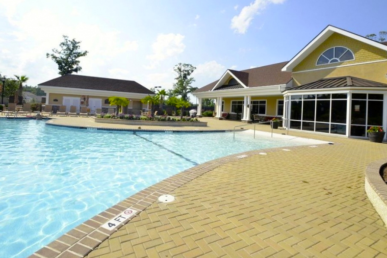 The Haven at New Riverside is a 55+ community built by Del Web in Bluffton, SC.