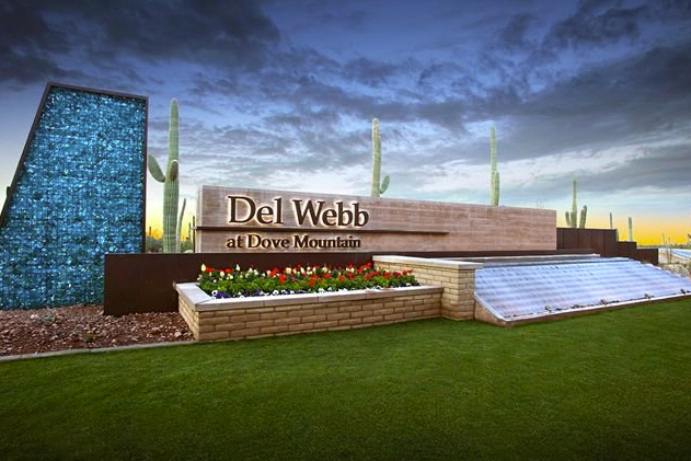 Del Webb at Dove Mountain is a beautiful 55+ community in Marana, AZ.