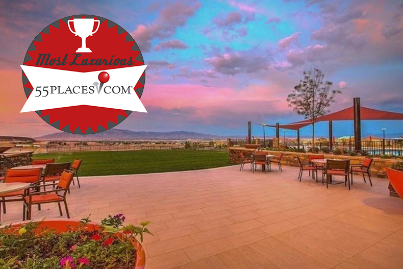 Del Webb at Mirehaven has been awarded the most luxurious community award by 55places.com.