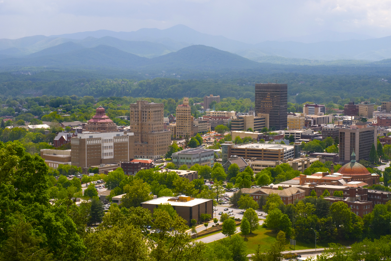 Asheville, NC is just one hot market for retirees looking to escape to North Carolina.