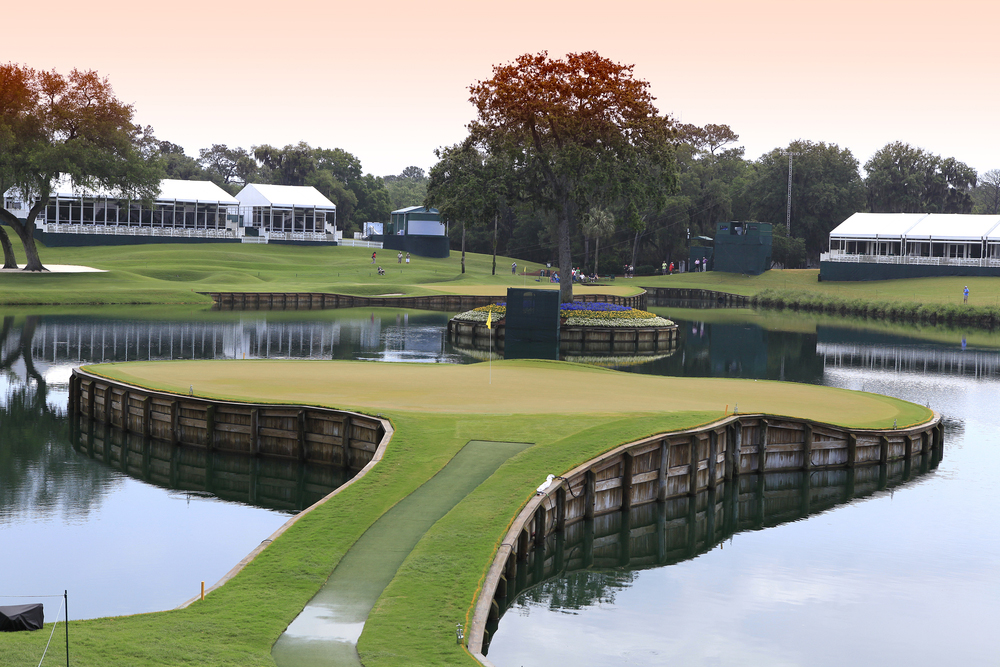 TPC Sawgrass is one of Florida's many stunning golf courses that you can retire near.