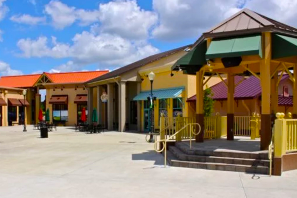 The Town Square at On Top of the World Ocala offers great shopping opportunities that residents can take advantage of.