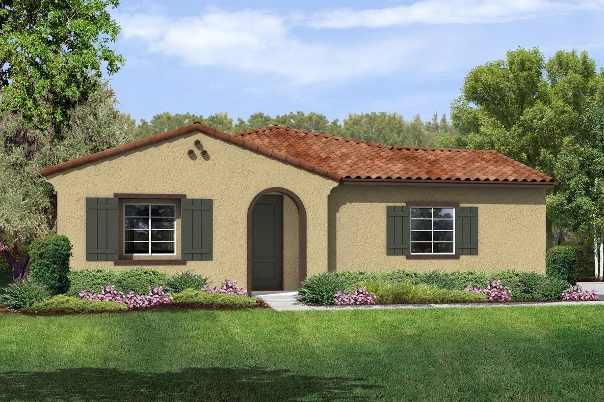 Model home rendering for Four Seasons at Los Banos. Courtesy of K. Hovnanian.