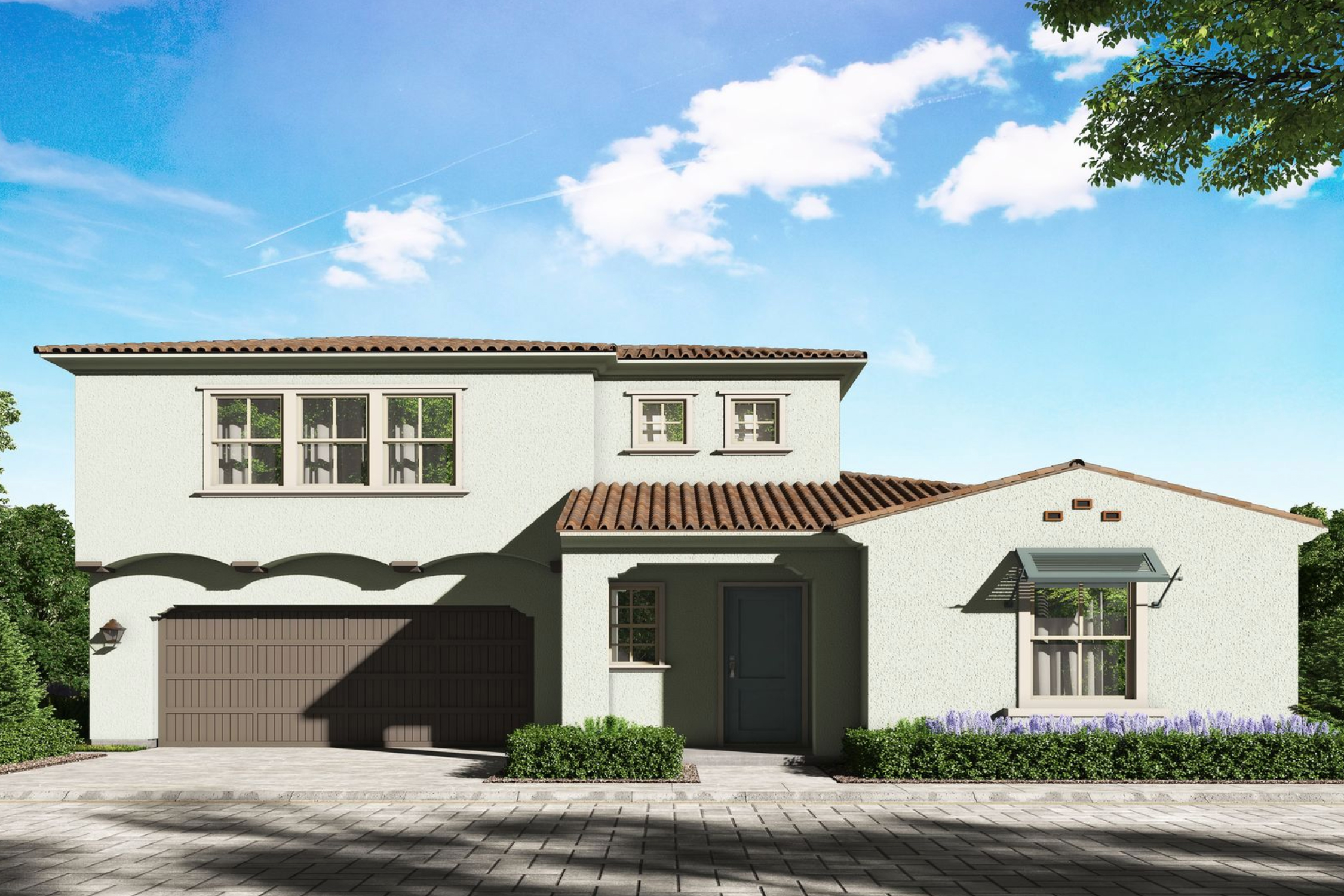 The Palencia model at Travata in Irvine, CA. Courtesy of CalAtlantic Homes.
