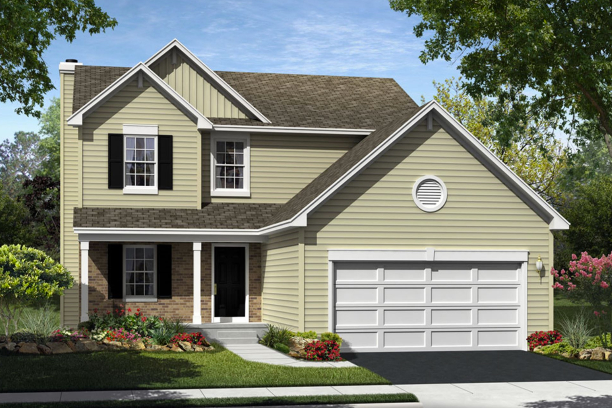 One of the 6 available floor plans offered by CalAtlantic Homes.