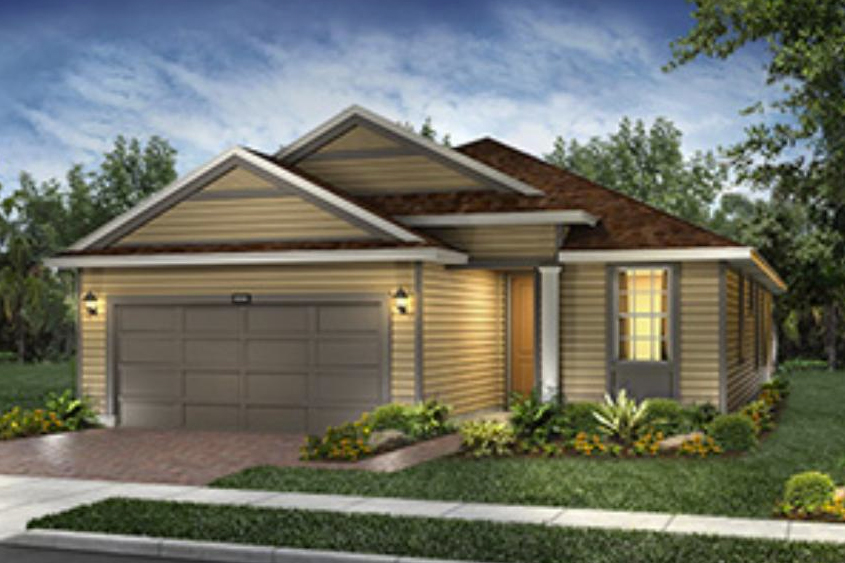 The new Rome model being offered in Trilogy at Ocala Preserve.