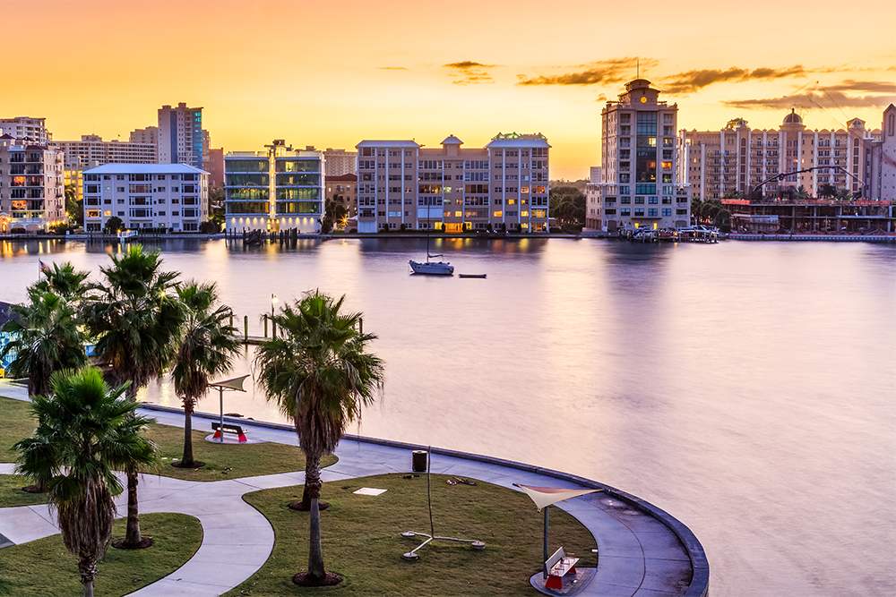 Sarasota, FL is only one great option for active adults looking to retire in a big city.
