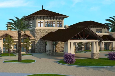 Del Webb Lakewood Ranch is getting a new clubhouse! Preliminary design courtesy of Del Webb.