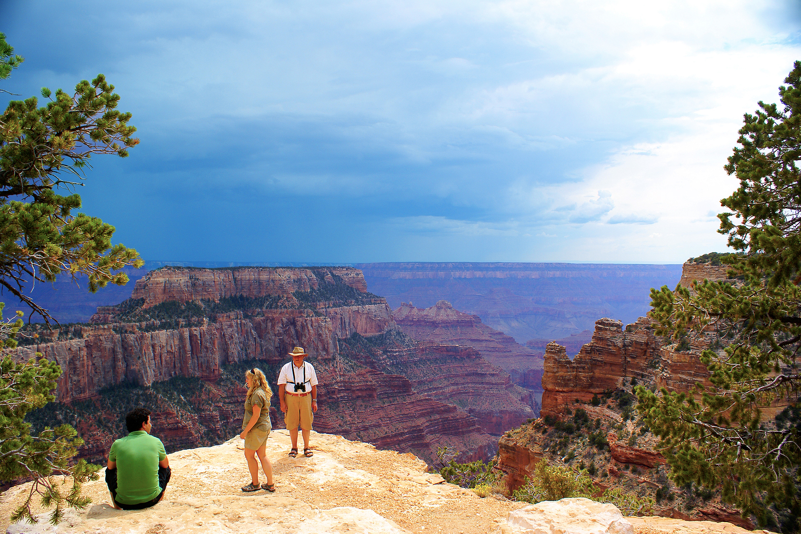 The Grand Canyon in Arizona is just one great vacation spot for the whole family.