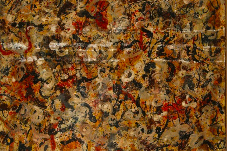 After a routine garage cleaning, this rare Jackson Pollock painting has emerged.