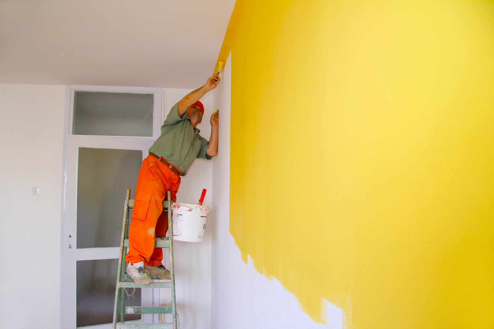 Painting is just one low-cost improvement you can make to your home.