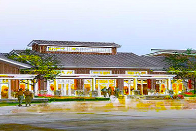 A rendering of The Twin Mills Club at Trilogy Lake Norman. / Courtesy of Trilogy