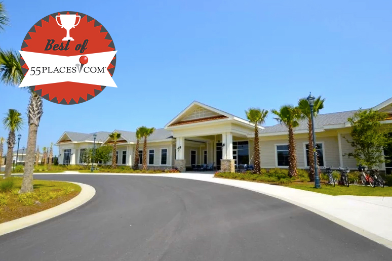Del Webb Sun City Hilton Head made 55places list of the 55 Best 55+ Communities.