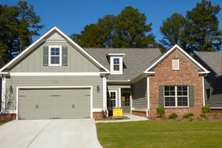 Just three homesites left in the new active adult community Victoria's Crossing in Kenesaw, GA.