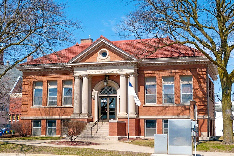 Marion Carnegie Public Library in Marion, Iowa