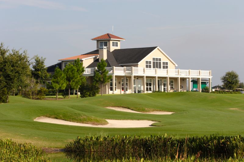 Residents enjoy not one but three beautiful clubhouses with amazing views.
