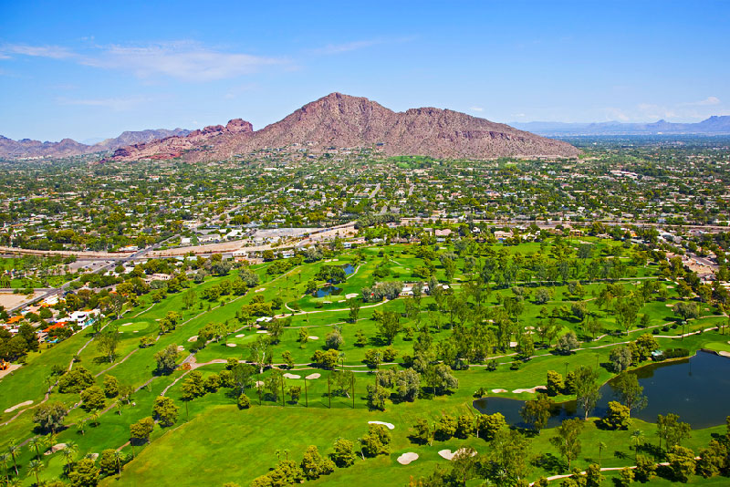 Phoenix is home to fantastic outdoor recreation including 11 public golf courses located within the original Sun City community by Del Webb.