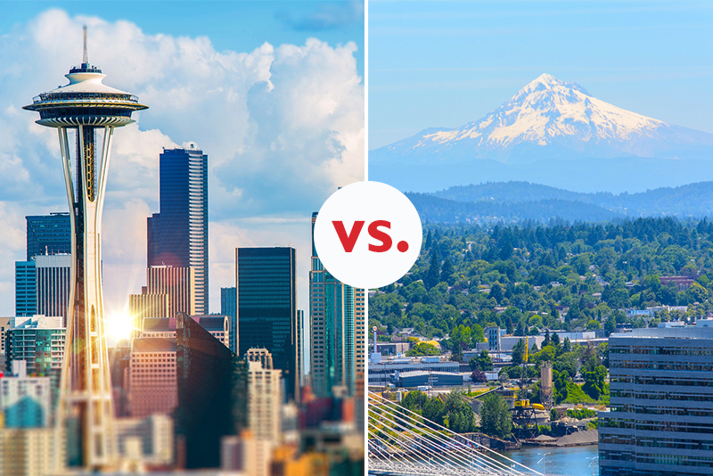 Which city would you prefer to live in; Portland, Or or Seattle, WA?
