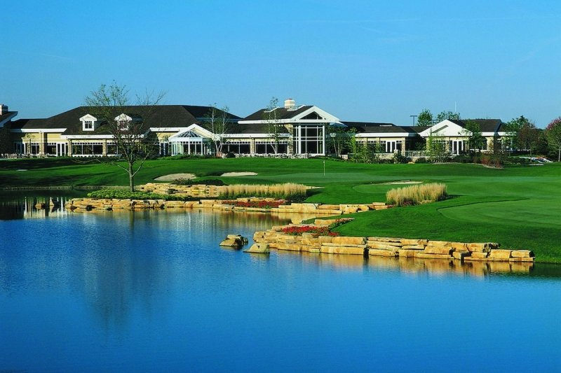 The 94,000 square-foot clubhouse of Sun City Huntley reigns supreme to any other active adult community in the Chicago area.