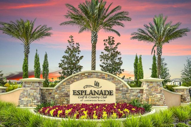 Esplanade at Lakewood Ranch is within a short drive to beaches, airports, entertainment venues and cultural activities.