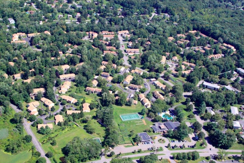 The Carmel, NY area is home just over a dozen of active adult communities.