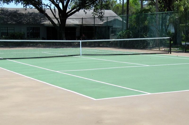 Homeowners who seek more physical activity can play at the tennis, bocce ball, or shuffleboard courts.