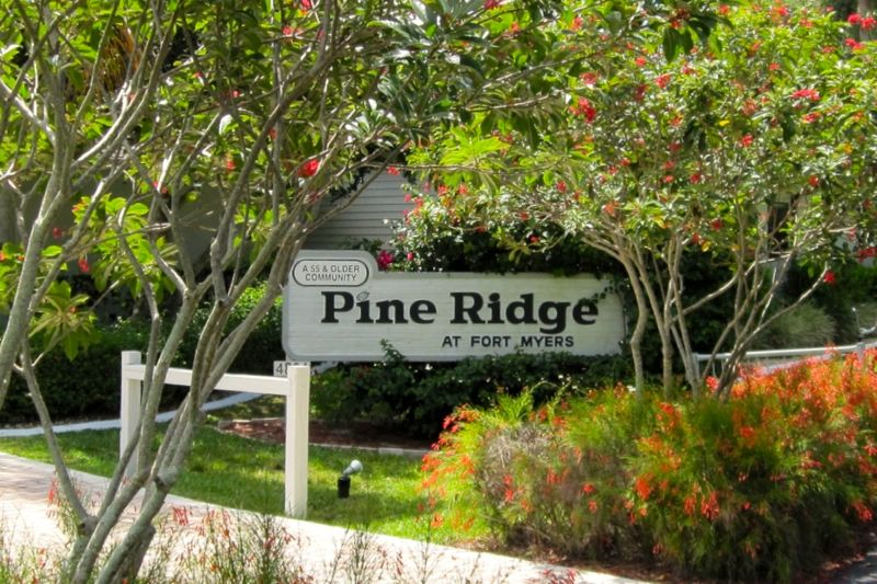 Pine Ridge at Fort Myers offers affordable homes and fun lifestyle for active adults.