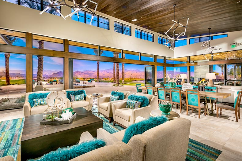 The clubhouse at Trilogy at Verde River in Rio Verde, Arizona