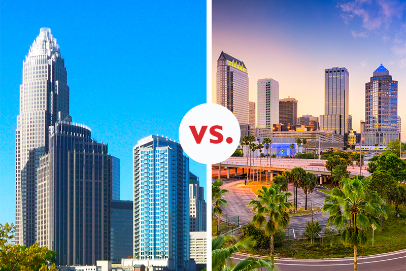 Ocala and Tampa are two of Florida's premiere cities, especially for retirement.