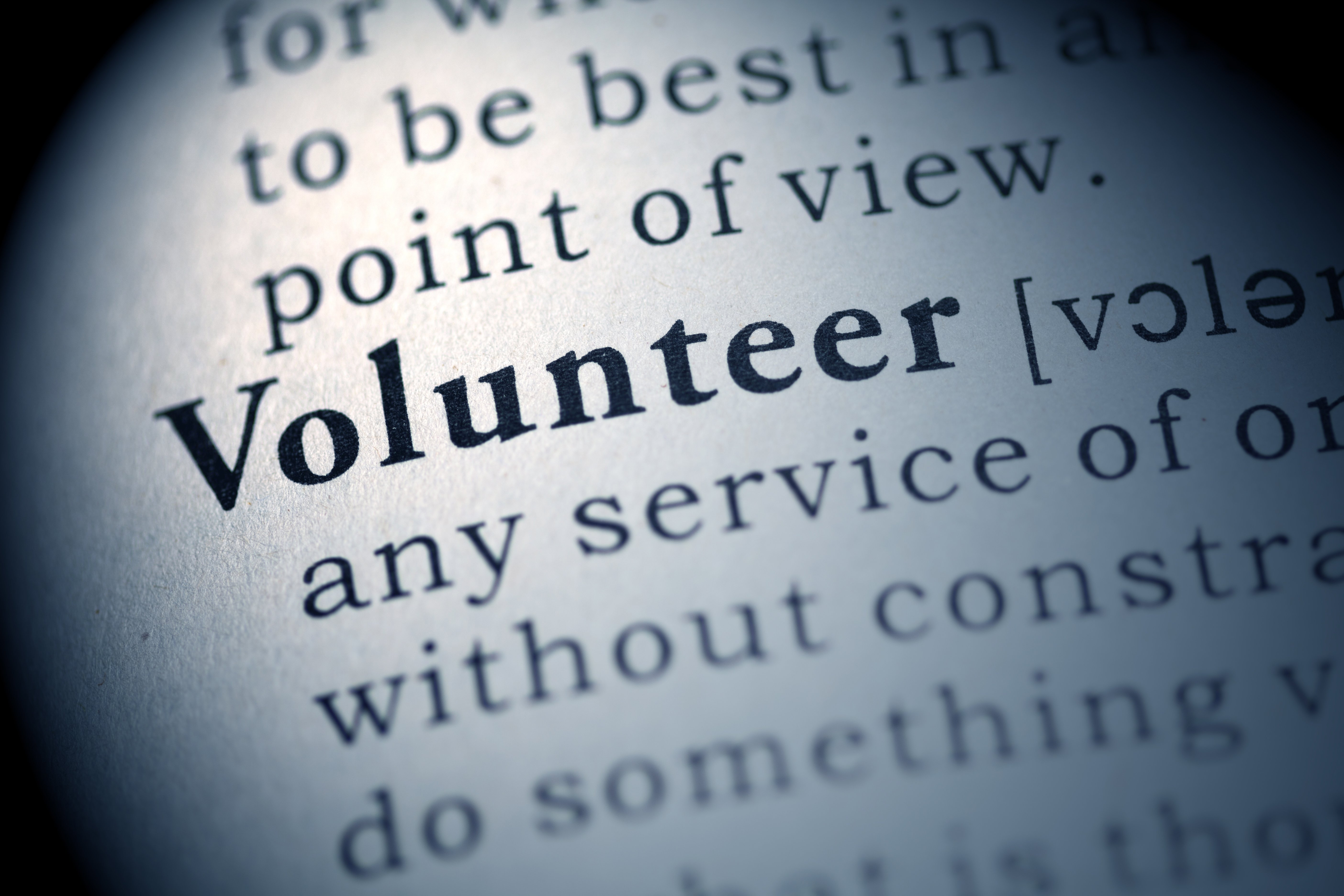 Volunteering is both a great way to stay active as well as give back to your community!